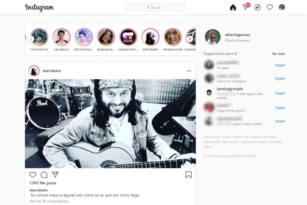 instagram web online