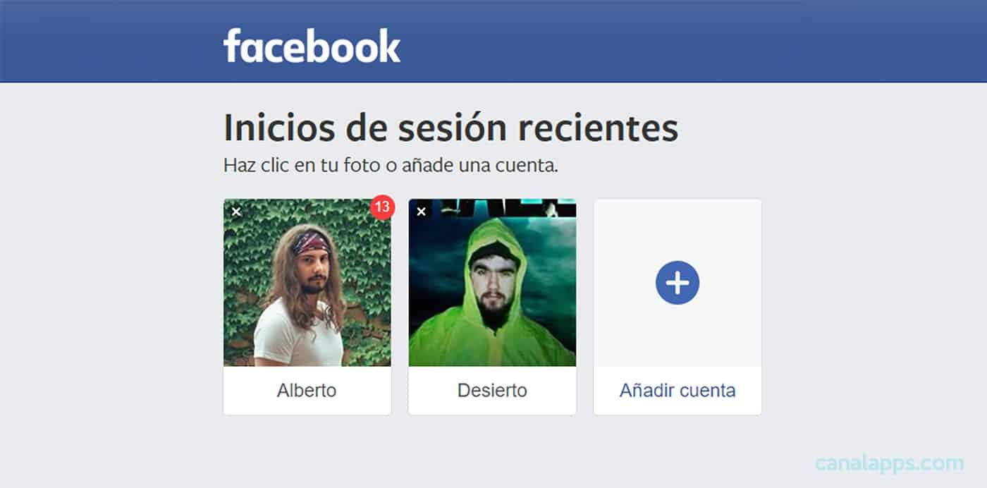 facebook entrar directo sin contraseña