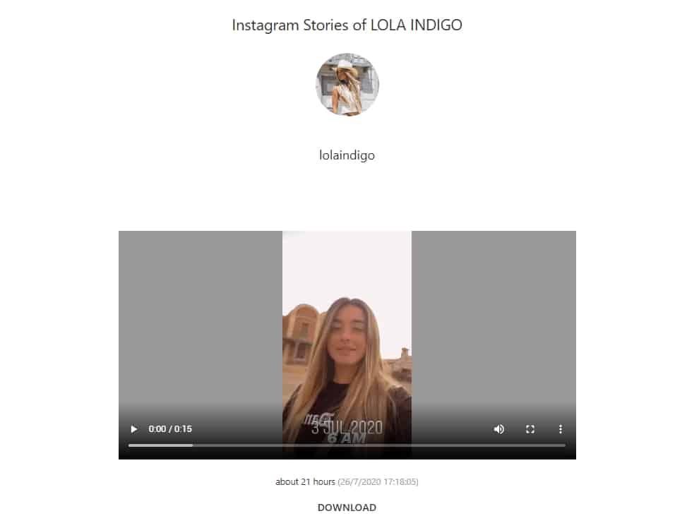 descargar instagram stories historias