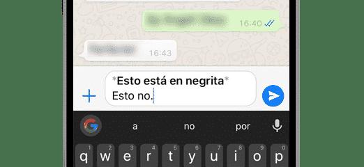 whatsapp negrita