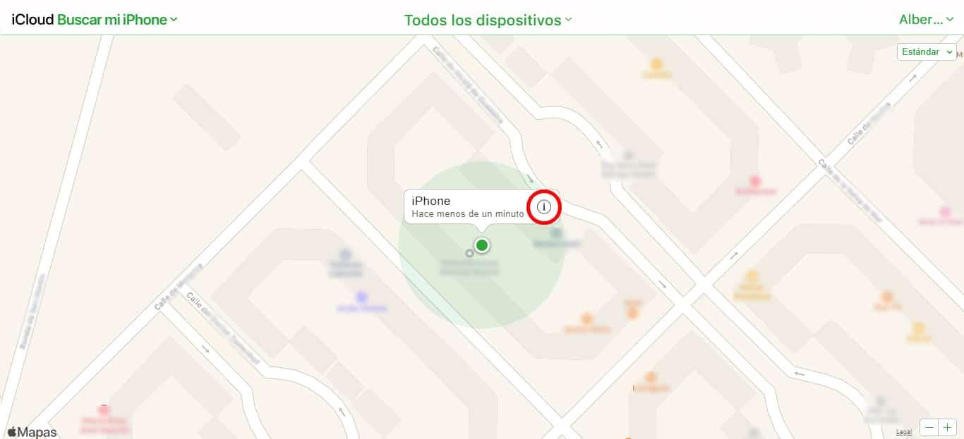 más información en buscar mi iphone