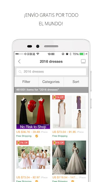 catalogo dhgate app