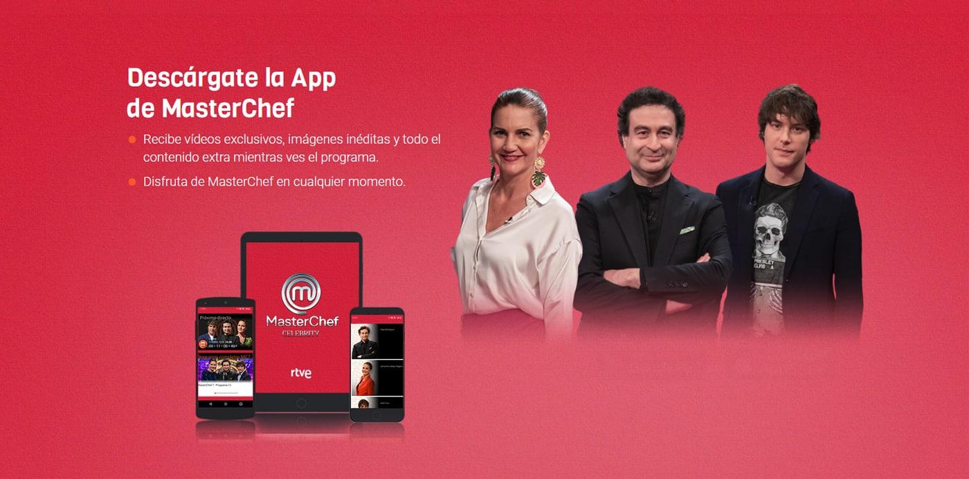descargar la app de masterchef celebrity 5