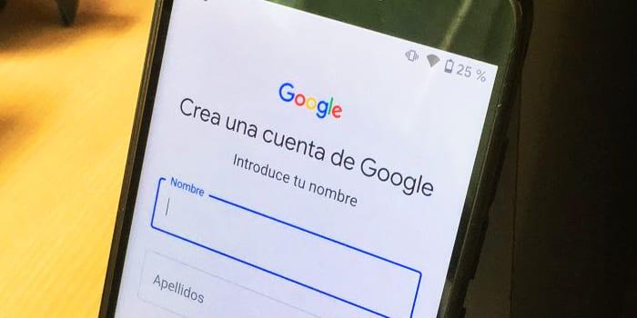 crear cuenta nueva google