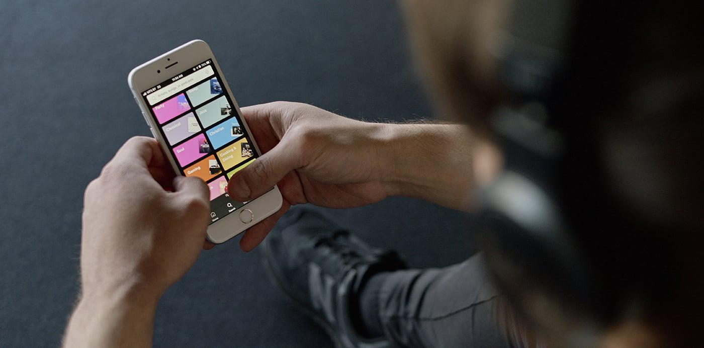 spotify menu app